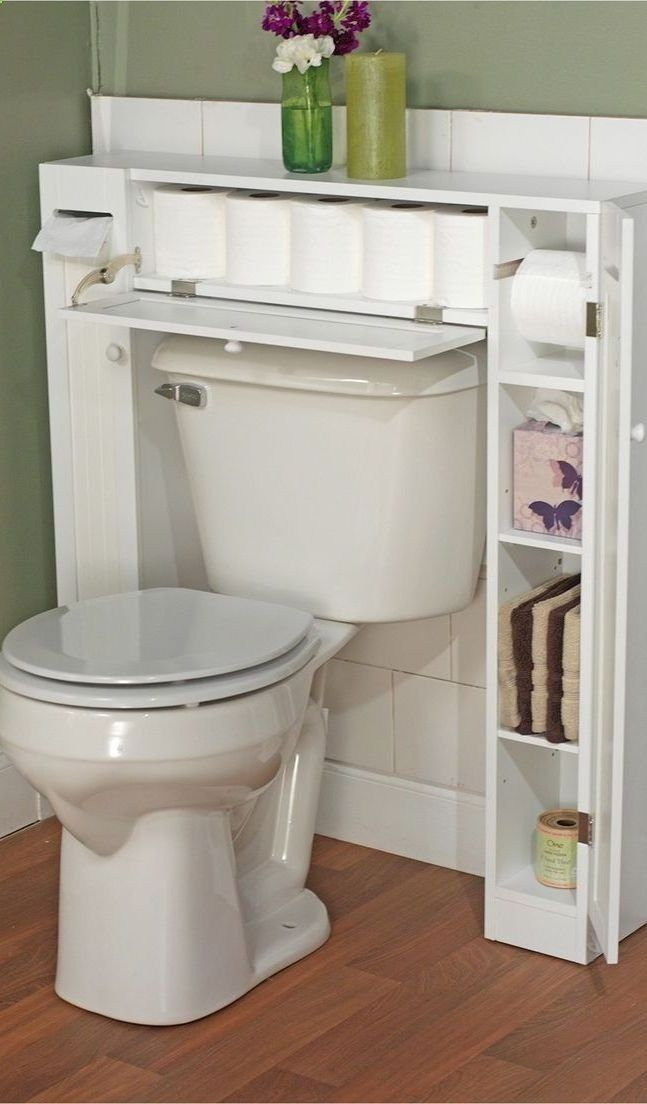 Muebles Para Baño Wc:Bathroom Space Saver Over Toilet