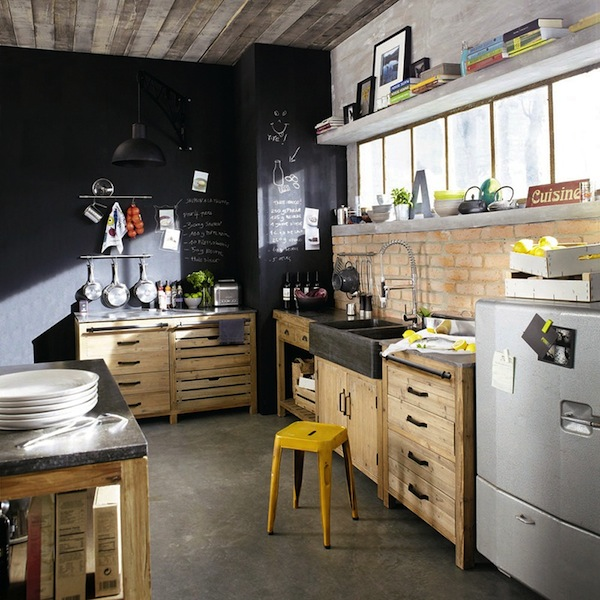 claves para decorar con estilo retro industrial el blog