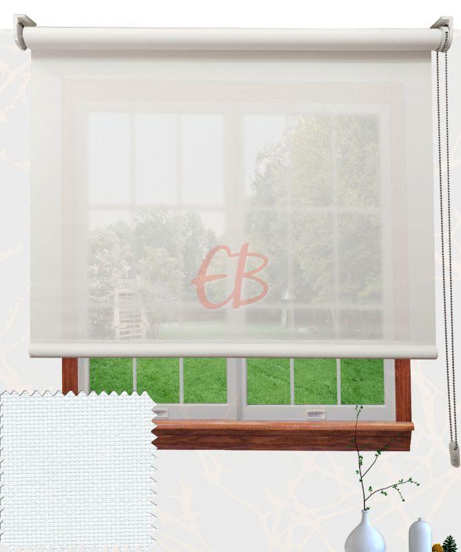 Estor EcoScreen factor 10% apertura Blanco  V10 0202