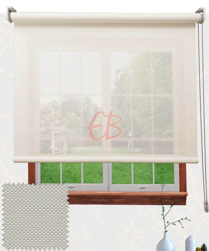 Estor EcoScreen factor 10% apertura Blanco Lino V10 0220
