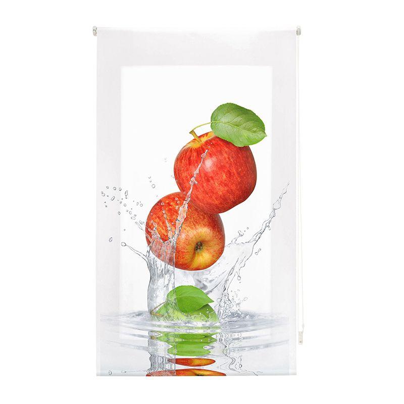 Estor enrollable cocina manzana y agua