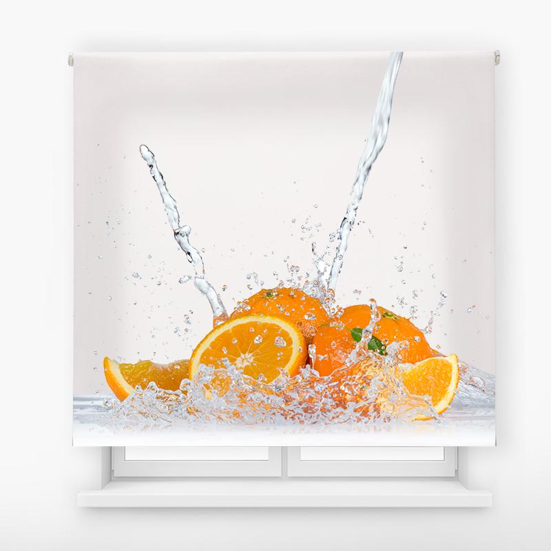 estor impresión digital estándar agua naranjas