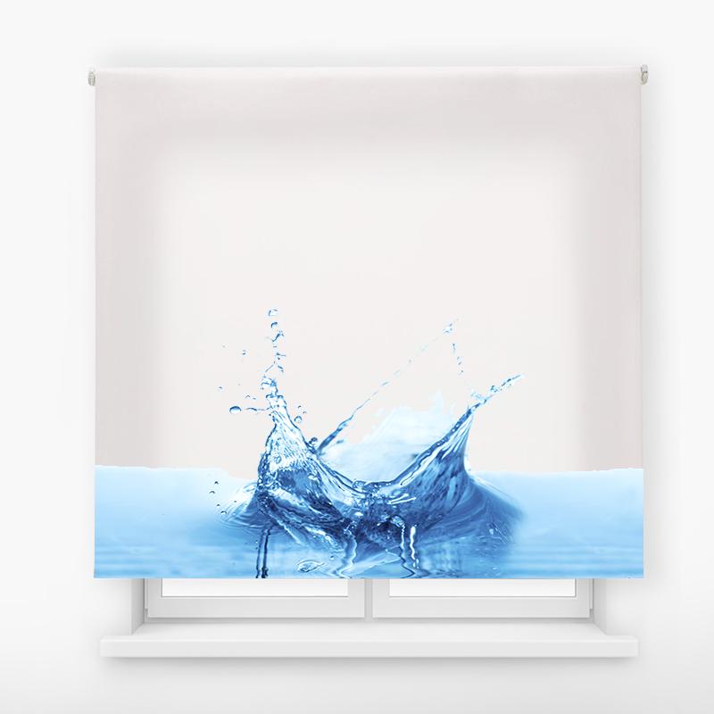Estor impresión digital estándar básico Agua splash