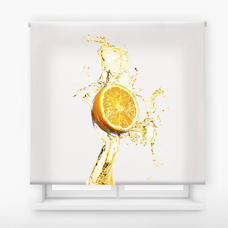 estor impresión digital estándar básico Naranja splash
