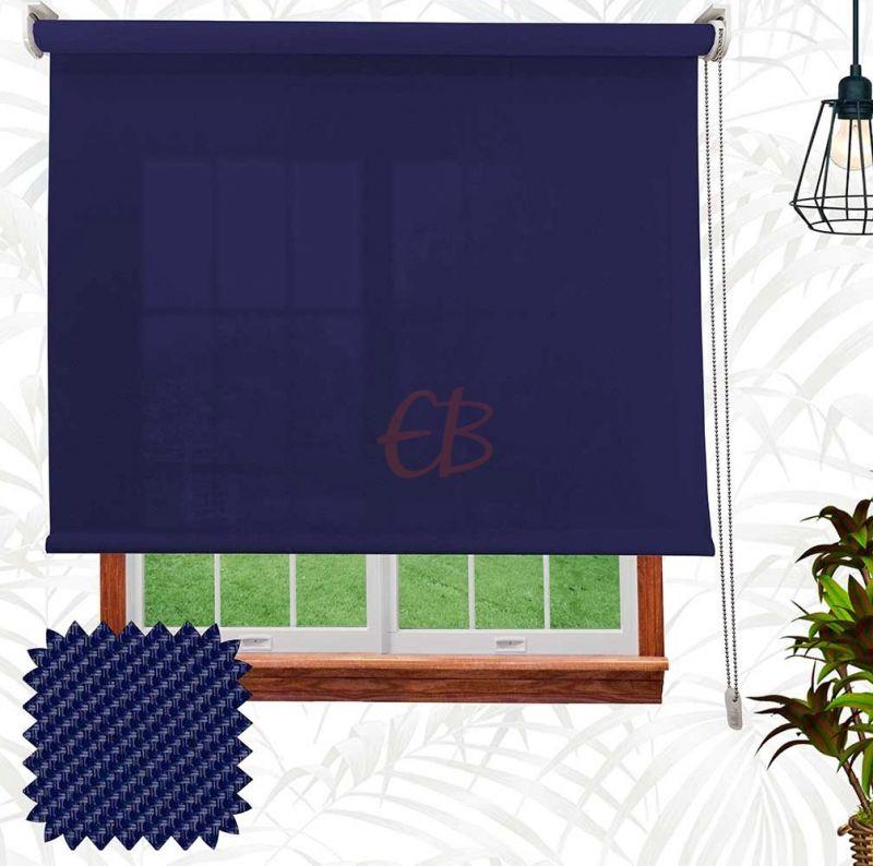 Estor enrollable  Screen Sarga Azul S55 06