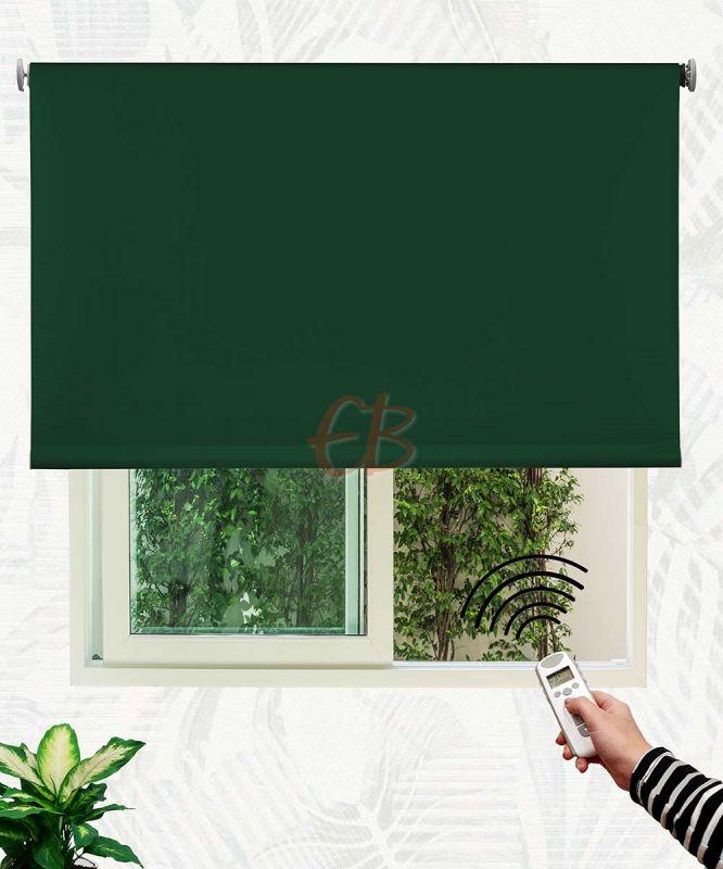 Estor enrollable opaco fibra de vidrio Verde inglés DK 09
