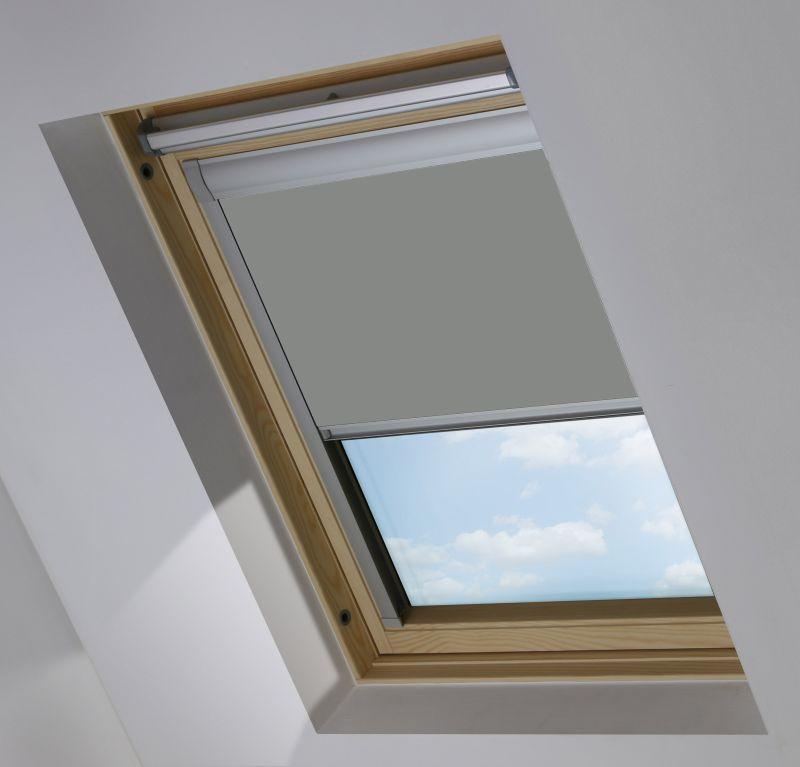 Cortina de tejado para ventana Velux Gris Oscuro Opaco 917149-0519