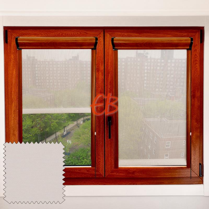 Enrollable Screen 3500 marco cristal Blanco Lino S30 01