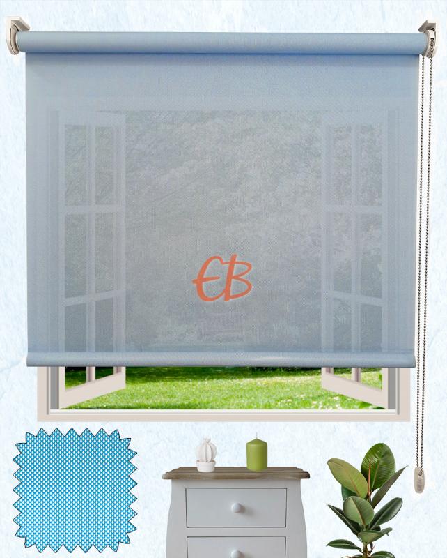 Decor Screen Blanco-azul s38 33
