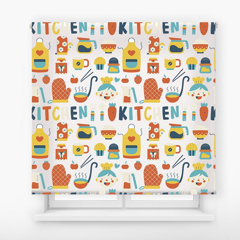 Estor enrollable cocina diseño Kitchen carrot