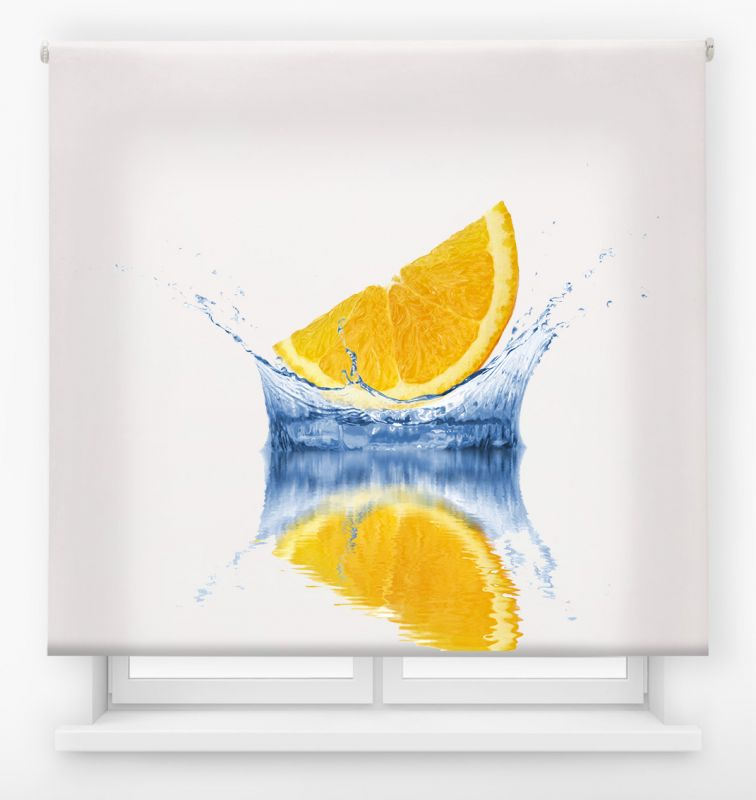 estor enrollable cocina ambient fruits lemon splash 2