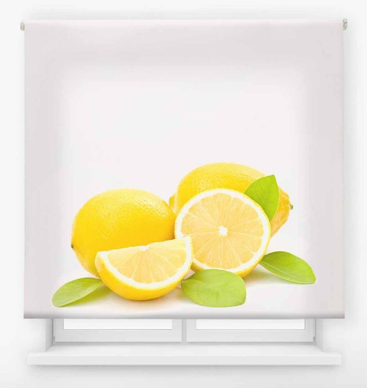 estor enrollable cocina ambient fruits limon 12
