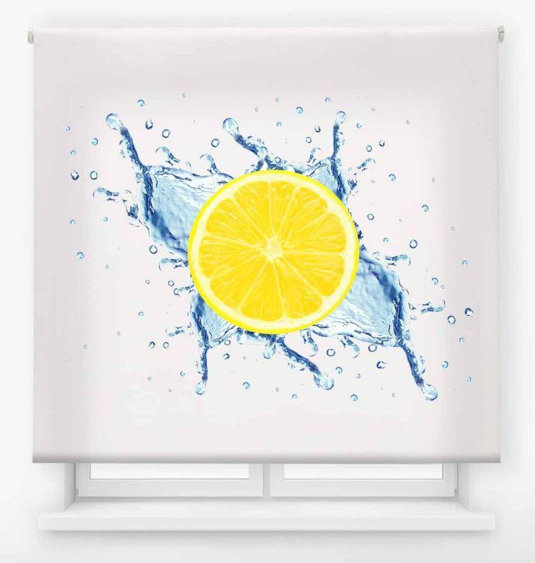 estor enrollable cocina ambient fruit limon agua 1