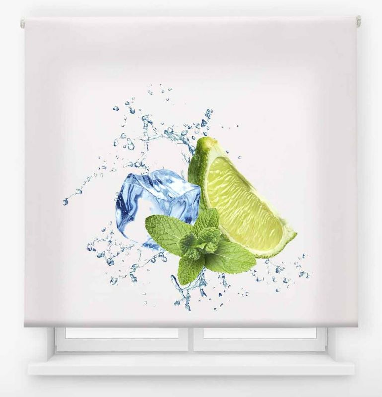 estor enrollable cocina ambient fruits limon&lima