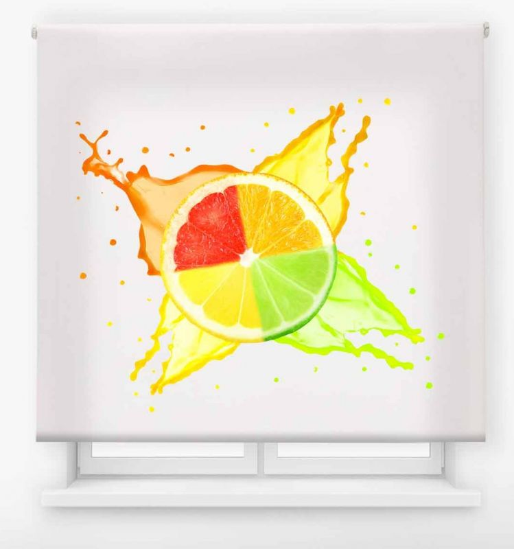 estor enrollable cocina ambient fruit multicolor 2