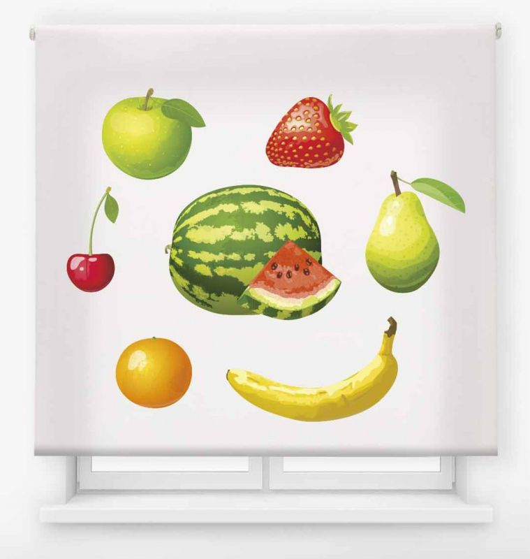 estor enrollable cocina ambient fruits multifrutas 16