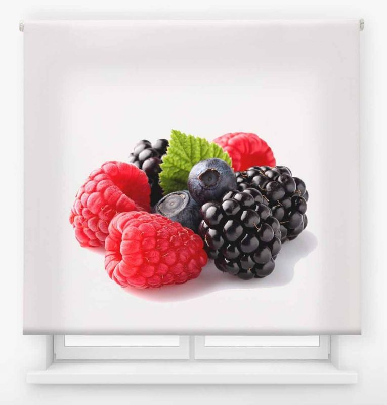 estor enrollable cocina ambient fruits frutos rojos 2