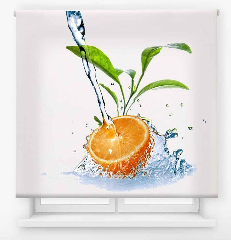 estor enrollable cocina ambient fruits naranja 9