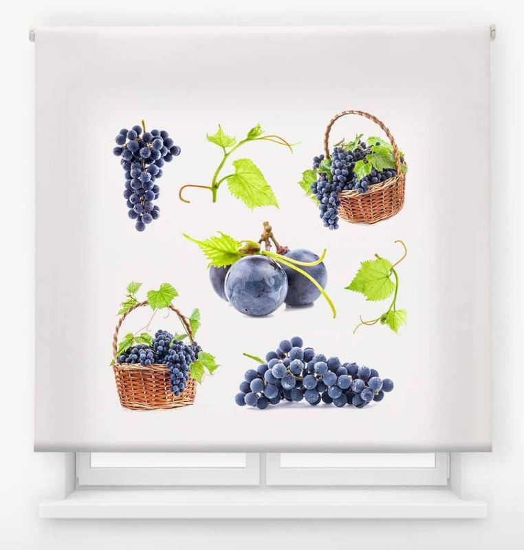 estor enrollable cocina ambient fruits uva vid 4