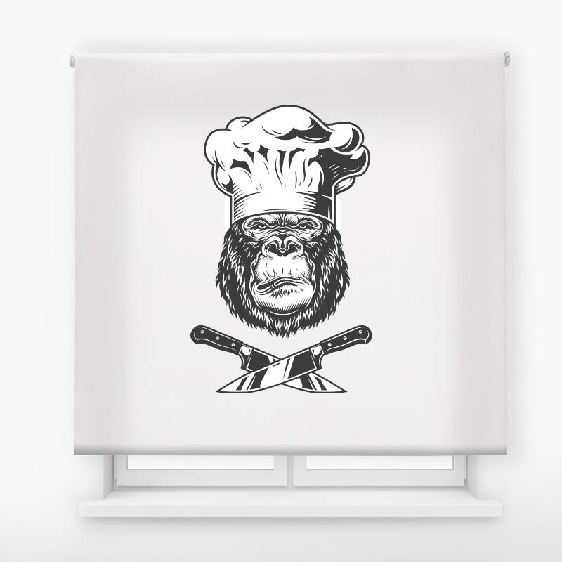 Estor de impresión digital acabado Gorila Chef