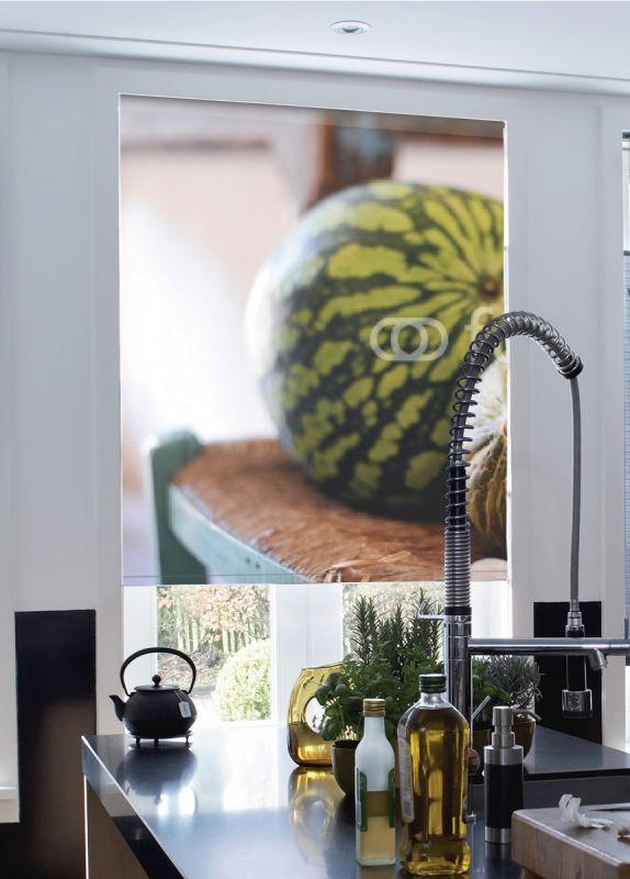 Estor enrollable cocina melones