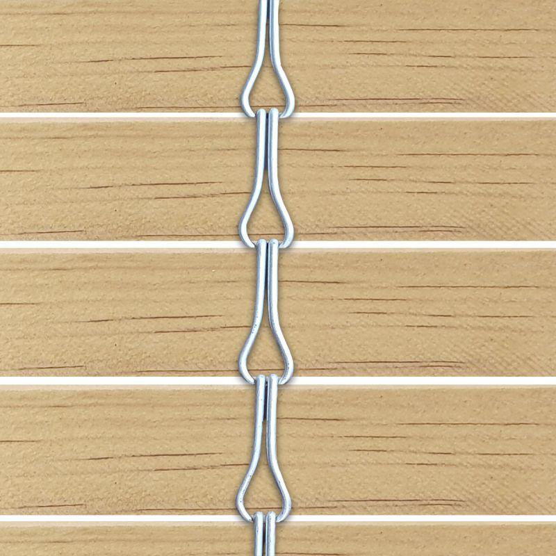 Persiana alicantina de madera acabado barnizado natural