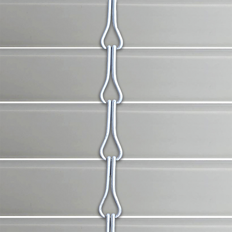 Persiana alicantina de PVC acabado gris