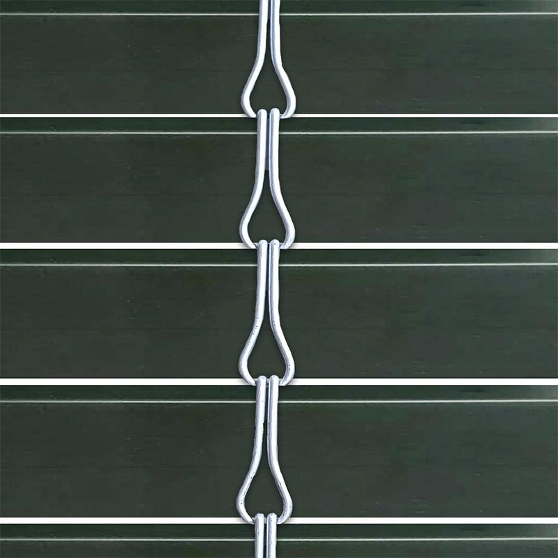 Persiana alicantina de PVC acabado verde andaluz