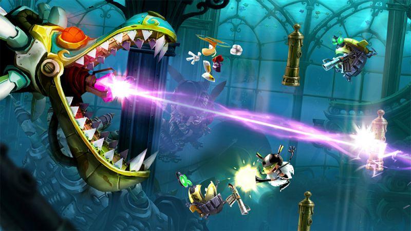 Estores enrollables videojuegos Rayman 14