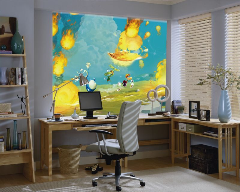 Estores enrollables videojuegos Rayman 8
