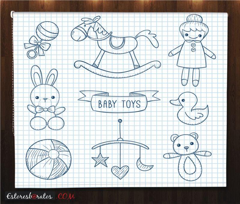 estores enrollables para bebes a medida baby toys