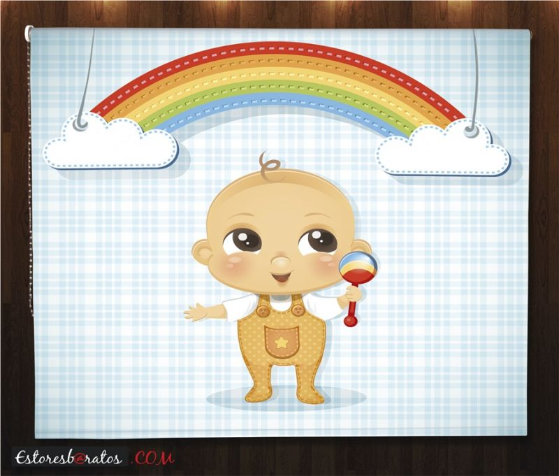 estores enrollables para bebes a medida baby