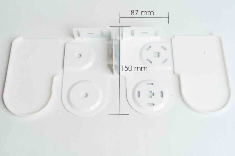 soportes para estores dobles modelo elegant