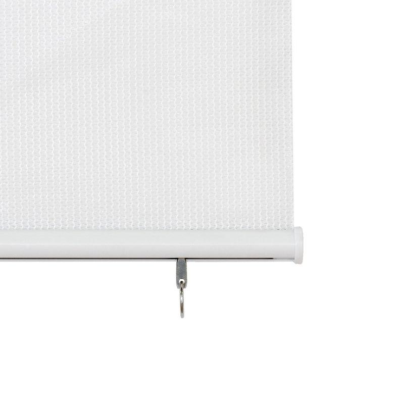 persiana de exterior blanca