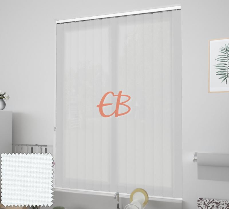 cortina vertical ecoscreen 3% Blanco 0202