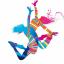 Estor enrollable juvenil color dance