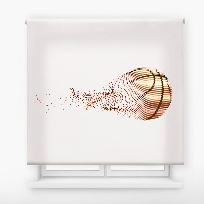 Estor juvenil impresión digital Exteme Colors Basket 7