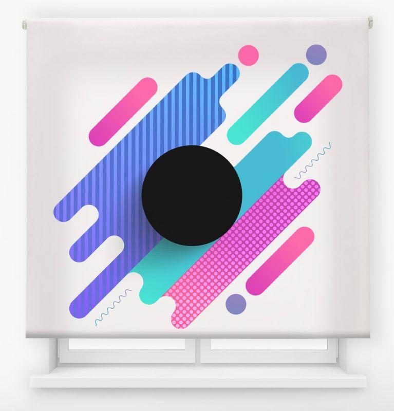 estor juvenil impresion digital exteme colors geometricas 2