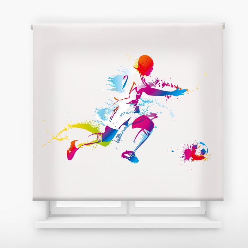 estor juvenil impresion digital exteme colors futbol 7
