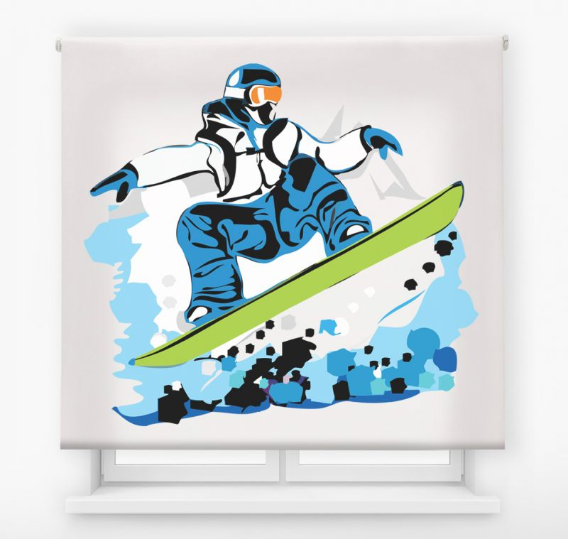 estor impresion digital juvenil extreme colors snowboard