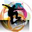 Estor enrollable juvenil color skateboard