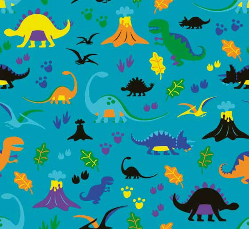 Estor enrollable infantil y bebé básico dinosaurios