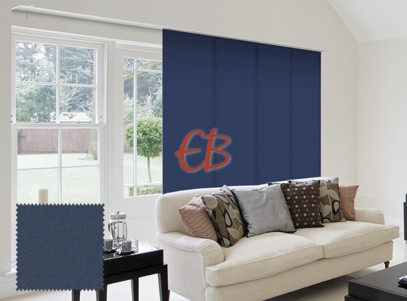 Panel Japonés solo tela color liso Azul Acero CA18