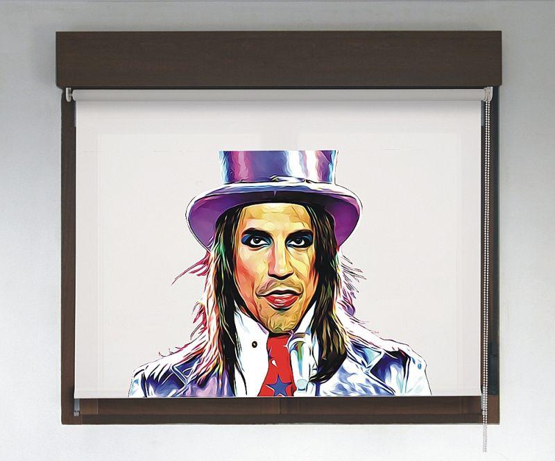 Estor enrollable Rock & Roller diseño Anthony Kiedis / Red Hot