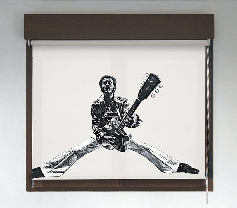 Estor enrollable Rock & Roller diseño Chuck Berry