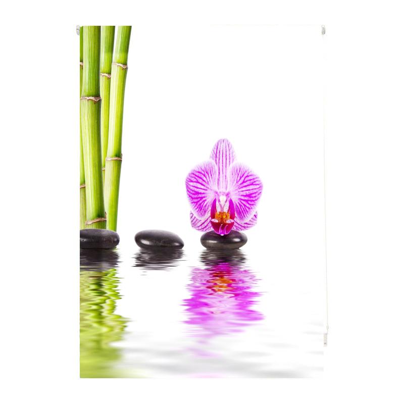 Estor impresión digital Z Orquídea piedra