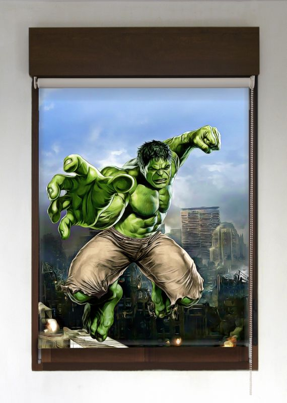 estor enrollable superroller hulk con fondo