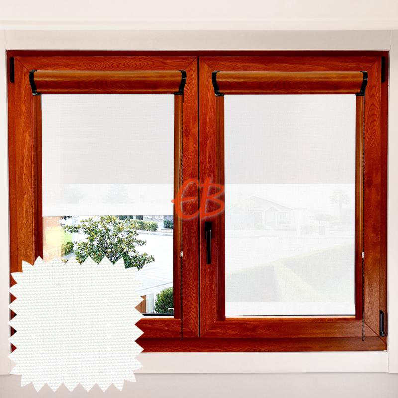 Enrollable EcoScreen 3% marco ventana Blanco 0202
