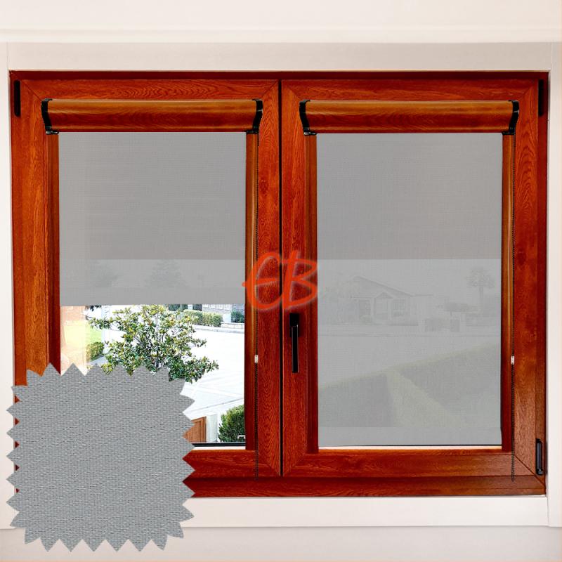 Enrollable EcoScreen 3% marco ventana Perla 0707