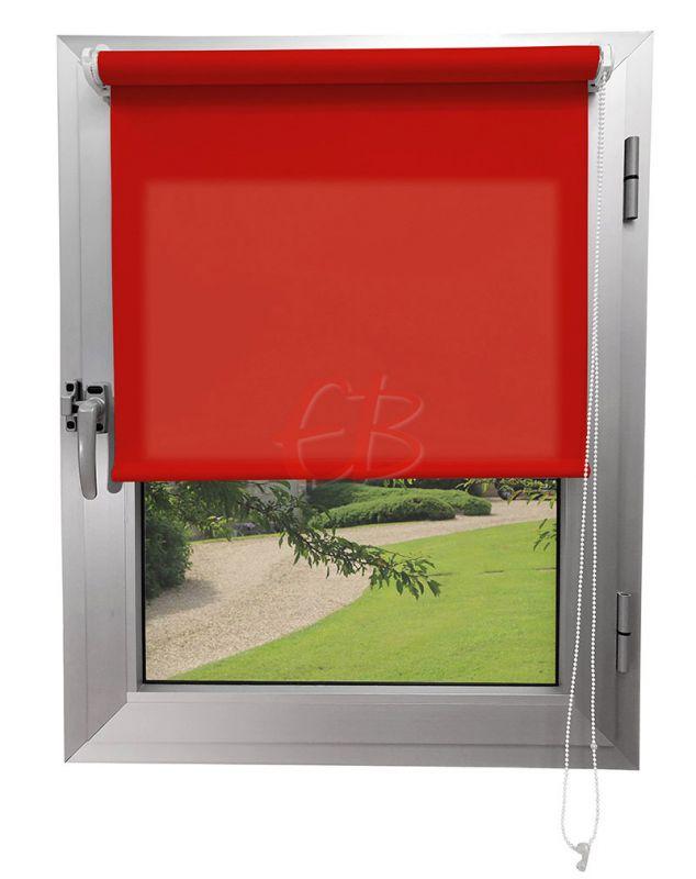 Mini estor sin Taladrar Traslúcido C1 Rojo Oriente C5250